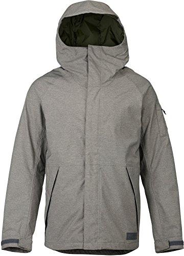 Burton Mens Hilltop Jacket, Shade Heather, Medium