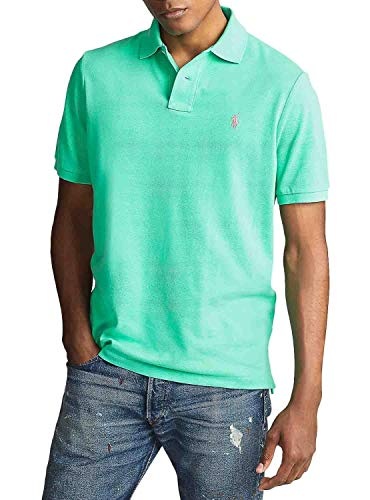 Ralph Lauren Basic Poloshirt für Herren, Grün, Grün XXL