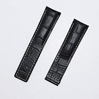 JINN - Watchbands - Cardioid 20/22/24 مم حزام ساعة جلد البقر لماركة TAG HEUER Series Men Quality Band Soft Watch Band اكسس...
