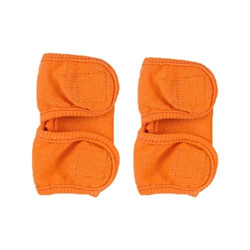 Balacoo 1 Paar Hund Kniebandage Ellenbogenbandage Gelenkbandage Beinschutz Bandage für Haustier Vorderbein Hinterbein