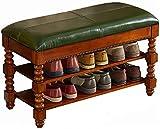 Taburete de almacenamiento de zapatos europeos Tabo para zapatos de madera maciza (tamaño: 80 cm) Xuan – Worth Having (tamaño: 60 cm)