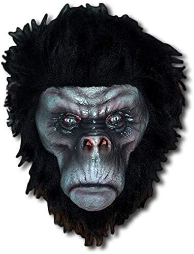 Horror-Shop Angry Masque de chimpanzé Noir