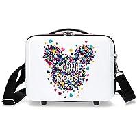Neceser ABS Minnie Magic corazones adaptable a trolley
