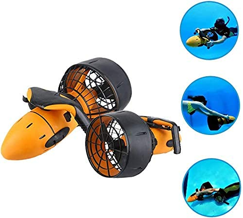 Sgxiyue Impermeable 300W eléctrico Scooter subacuático Agua mar Doble Velocidad hélice Buceo Buceo Scooter Agua Deportes Equipo