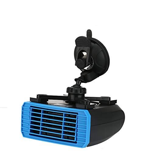 Calefactor de Aire Caliente Calentador de coche de 12V 24V Ventilador de calefacción de automóviles de 360 grados Rotación con función de aire frío 150W-260W Adecuado para automóviles y camiones Coc