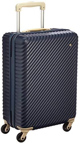 [ハント] スーツケース マイン ストッパー付き 48cm 33L 05745 機内持ち込み可 48 cm 2.7kg ビオラネイビー