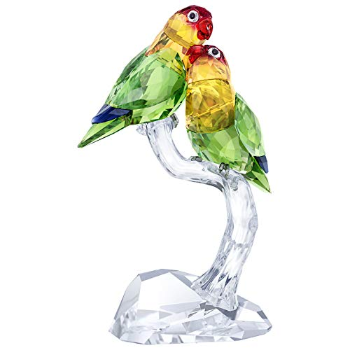 Swarovski Lovebirds - Cristallo, Multicolore, 16 x 8,8 x 5,5 cm