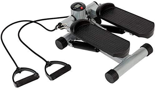 FLYT Indoor Pedal Exerciser, Hausierer Maschine Radfahren Stepper Laufmaschinen Sport Mini Stepper Laufband for Arm- und Bein Übungs-Fahrrad 912 (Color : Black)
