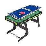 ZXQZ Mesa Multijuegos 2 En 1, Mesa de Billar Tablero de Mesa de Tenis de Mesa, para Juegos Familiares para Adultos Y Niños Mini mesas de Billar (Size : 125cm)