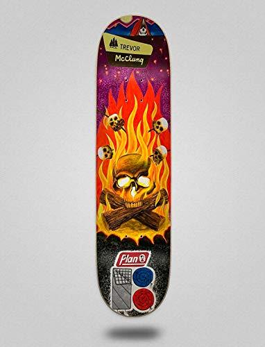 Plan B Monopatín Skate Skateboard Deck Trevor Cranial 8.375'X32.125'