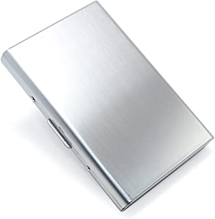 Credit Card Bag Push Button Wallet Professional Aluminum Business Card Holder Pocket Business Card Case Mini Business Card...