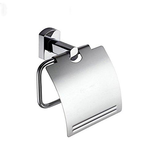 BOBE Shop- Cuivre Salle de Bains Papier Toilette Planes Toilet Paper Box Porte-Serviettes en Papier INOX Lumière