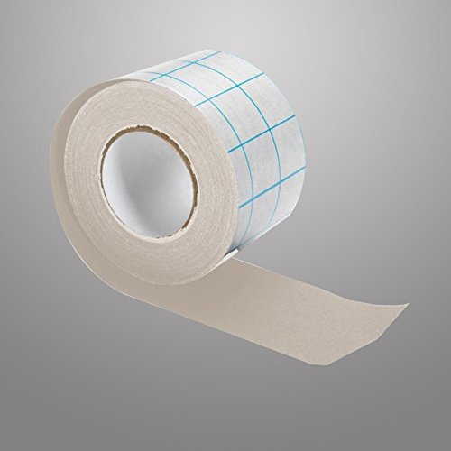 Modulor Neschen filmoplast T - Grau - 5cm - Selbstklebendes Baumwollgewebe ***Perfekt zum Reparieren von Büchern***
