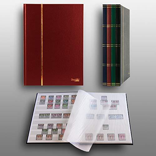 Prophila Collection Clasificador de 16 Paginas, Color Rojo