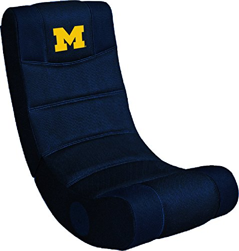 Imperial Officially Licensed NCAA Merchandise: Ergonomic Video Rocker Gaming Chair, Michigan Wolverines