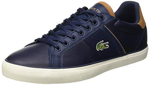 Lacoste Fairlead 119 1 CMA, Zapatillas para Hombre, Azul (Navy/Light Brown 4c1), 40 EU