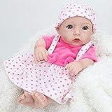 Reborn Baby Mini Dolls 10 Zoll Reborn Baby Doll für Mädchen Geschenk realistische Puppen Baby für...