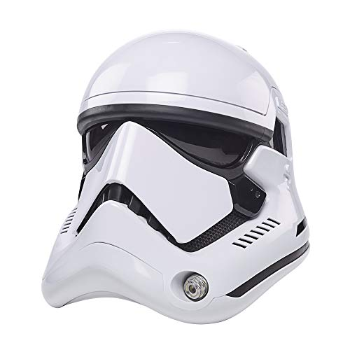 STAR WARS The Black Series First Order Stormtrooper Premium Electronic Helmet, The Last Jedi Roleplay Collectible