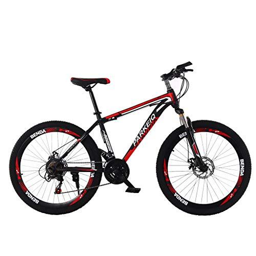 Firally 26'' Bici da Mountain - Modello Accelerare e Rafforzare l'assorbimento degli Urti - 21 velocità Variabile Massima 50 km/h Ruote 26''