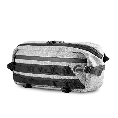 Skunk Sling Smell Proof Bag w/Combo Lock (Gray)