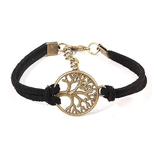 Big Tree Bracelet, Ladies Bracelet Gold Plated Chain Bracelet Wedding Jewelry Christmas Female Girl
