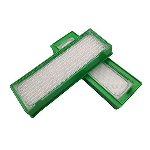 SDFIOSDOI Piezas de aspiradora FILTROS Ajuste para VORWERK Kobold VR200 ROBÓTICOS AUMENTARIOS DE Aplicaciones HOGAROS (Color : 4Pcs)