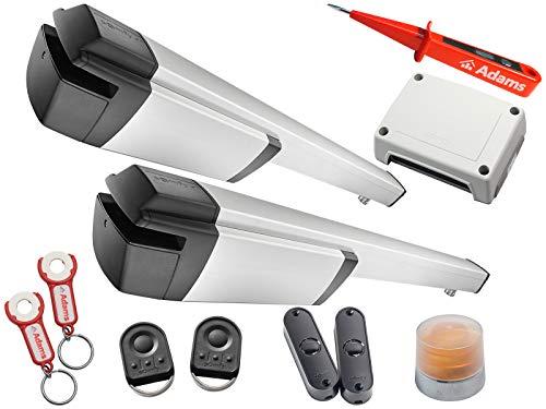 Somfy Ixengo L 3S IO KeyGo io con ADAMS colgante + panel de luz. Master Pro BiTech Eco Pro Set Eco Comfort pack io + comprobador de corriente ADAMS