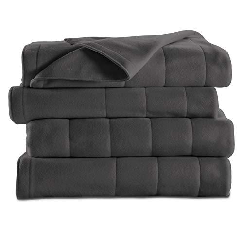 Sunbeam Fleece Electric Heated Warming Blanket | Amazon.com