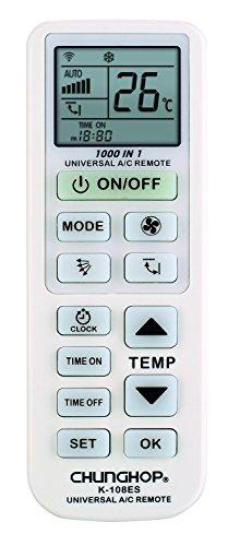CHUNGHOP Mando Universal para Aire Acondicionado, Bomba de Calor Inverter - Botones Grandes