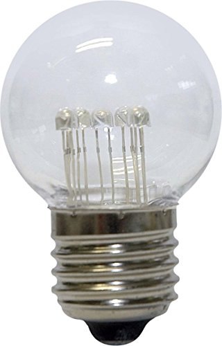 Scharnberger SCHR LED-lamp 57337 E27 1,0 W wit-kl, 1 W, warm wit