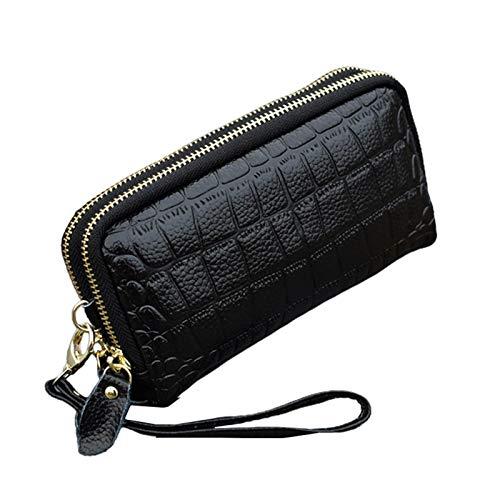Kentop Wallet Women Wallet Double Zipper Clutch Women's Coin Purse, 1 Pcs 1 Sale