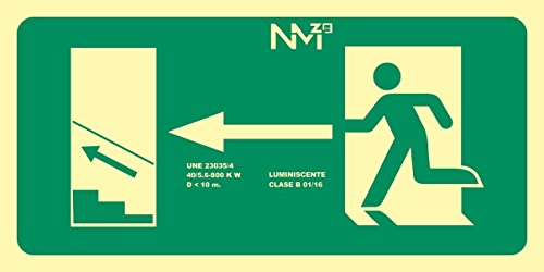 FRD18051 - Señal Luminiscente Salida Flecha Izquierda Escal