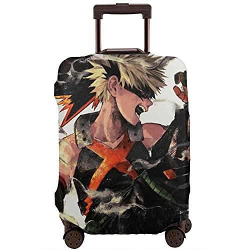 Anime My Hero Academia - Funda para maleta unisex con protección contra el polvo, resistente al desgaste