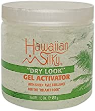 Hawaiian 10011 Silky Hawaiian silky dry look gel activator 16 fluid ounce, Gray, 16 Fl Ounce