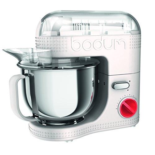 Bodum Bistro Elektrische Küchenmaschine, 4.7 l, 4.7 liters, Weiß