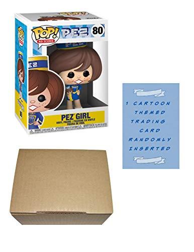 Funko Pop PEZ Girl -Morena- Ad Icons Pez #80 figura de vinilo con 1 tarjeta de comercio temática de...
