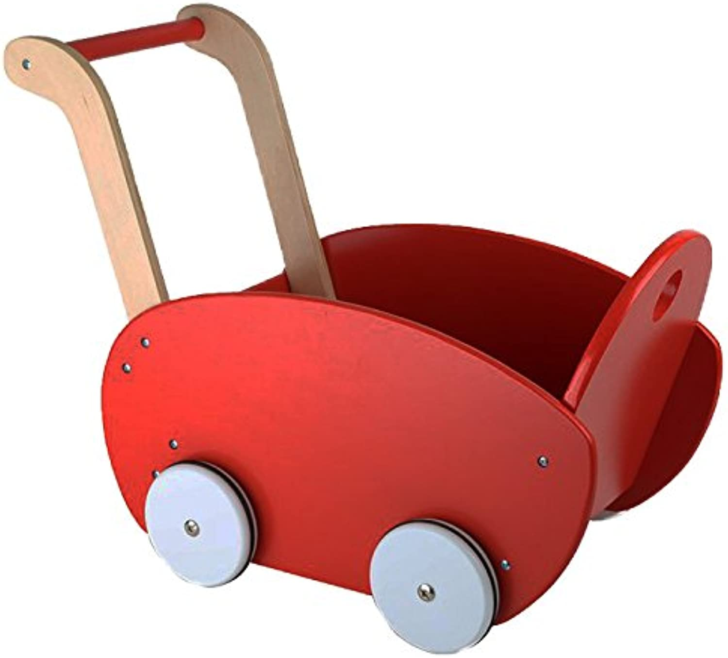 Small Foot 10025 Red Dolls Pram