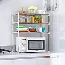 Ebee 3 Shelves Kitchen Cabinet - Grey