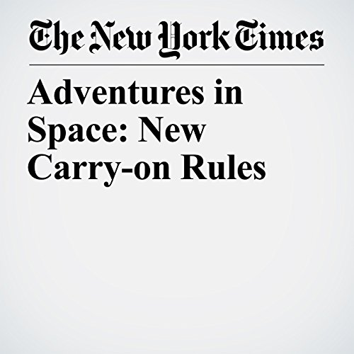 Adventures in Space: New Carry-on Rules cover art