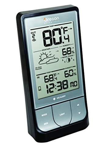 Oregon Scientific BAR218HG WeatheratHome Wireless Weather Station with Thermometer