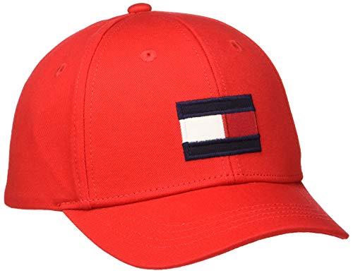 Tommy Hilfiger Big Flag Cap Gorra, Rojo (Red Xa9), X-Large para Bebés