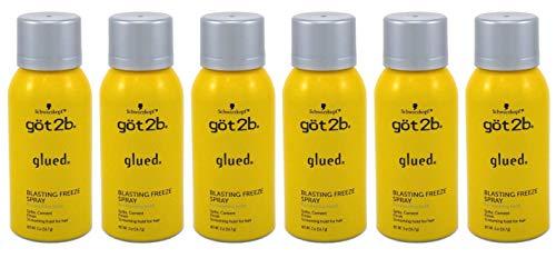 Got 2B Glued Blasting Freeze Spray 2 Ounce (6 Pieces)