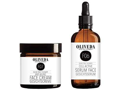 Oliveda F06 Anti-Aging Gesichts Serum - 100ml + F07 Anti-Aging Creme (50ml)