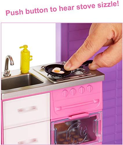 Maison de Rêve Barbie avec Garage Ascenseur Piscine et Glissade - 2
