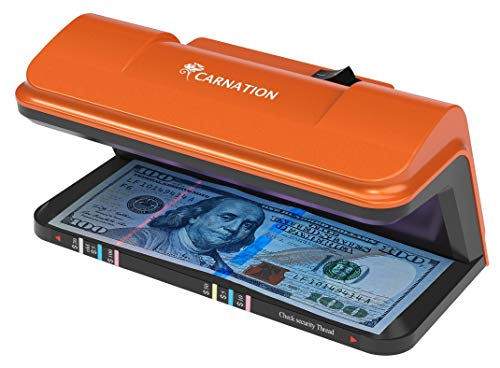 powerful Banknote detector with UV anti-counterfeit function and free anti-counterfeit pen