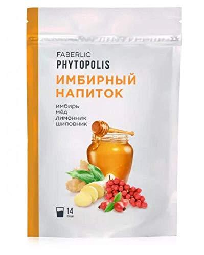 Bebida seca instantánea'Jengibre con miel, limoncillo y rosa mosqueta' Faberlic para reforzar sistema inmunológico
