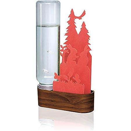 自然気化式加湿器 北欧の森Tree (Red)