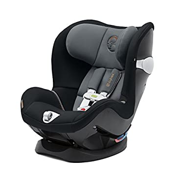Cybex 518002153 Sirona M Convertible Car Seat with SensorSafe 2.0, Pepper Black