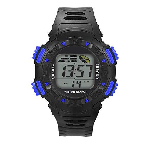 UINGKID Collection Unisex-Armbanduhr Mode High-End Multi-Funktions 30M Sport wasserdichte elektronische Uhr