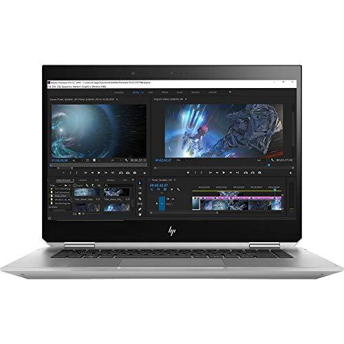 Product Image 2: HP ZBook Studio x360 G5 Mobile Workstation Laptop (Intel Xeon E-2176M, 32GB RAM, 1TB Sata SSD, 15.6″ FHD 1920×1080 Touch, Quadro P1000, ZBook Pen, Win10 Pro)